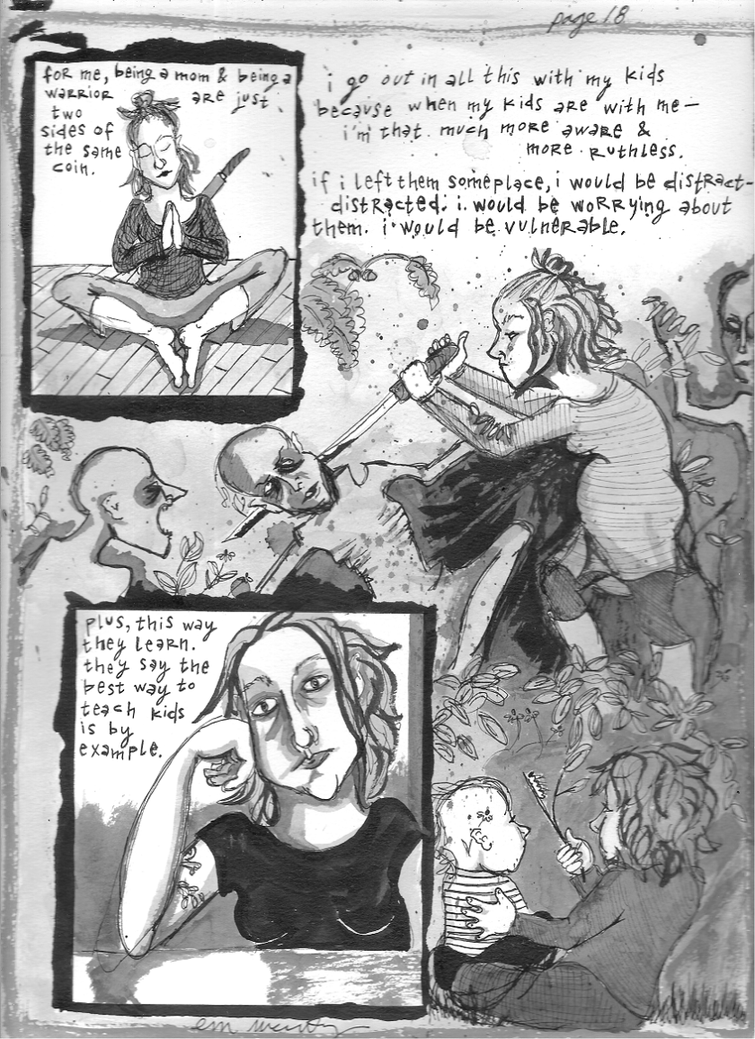 i had to dust off my scanner--i finally finished a new page